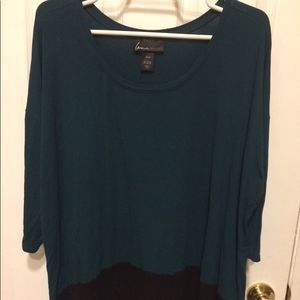 Lane Bryant long sleeve top EUC